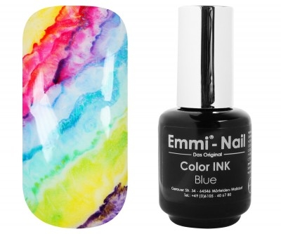 Color Ink Blue Emmi