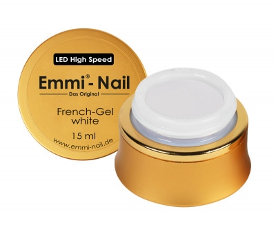 LED High-Speed French Gel White 15ml VEGAN