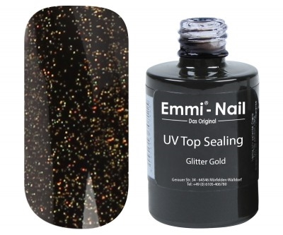 Top Sealing Glitter Gold - Emmi